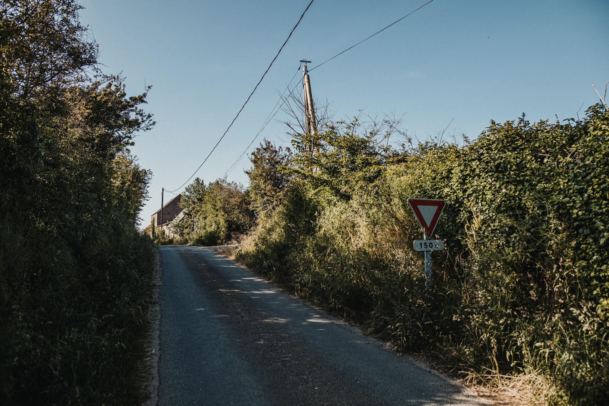 Rue de la Trigalle Vicq sur Mer Cosqueville